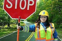 Traffic Control Person (Flagger) course