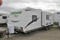 REDUCED-2012 28' Wildwood X-Lite Travel Trailer by Forest River