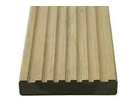 Softwood Treated Decking 3m