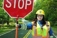 Traffic Control Person (Flagger)