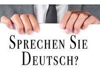 Professional native German tutor