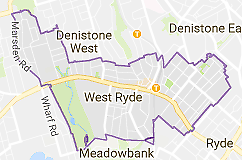Looking for room rent near West Ryde