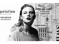 2 Taylor Swift Tickets. Wembley Stadium. Fri 22nd June 2018. Good Seats!