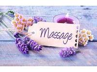 special offer today 25£ 1hour massage with Female massage therapist