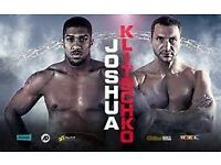Anthony Joshua Vs Wladimir Klitschko tickets