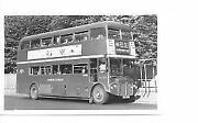 London Bus B&W Photos