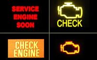 Lumière Check Engine Light (CEL) Scanning / Resetting - $10