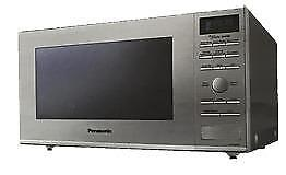 Panasonic (1.2 Cubic Feet) Microwave Oven - Stainless Steel