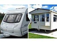PX Your Touring Caravan for A Static Caravan in Carmarthen,Pendine Sands,Beach Location