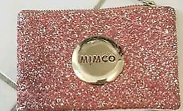 Pink Sparkly Mimco Small Pouch
