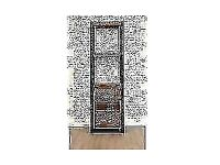 Java Drawered Industrial Storage Bookcase Reclaimed Boatwood Open Back Urban Loft Style
