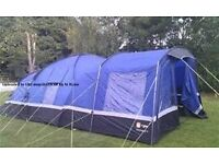 Hi Gear Voyager 6 Tent, Porch, Carpets and lots more