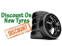 225/40/18 215/45/17 Brand New Tyres SUPPLIED & FITTED Lowest Prices Guaranteed - 7 Days A Week DN21