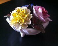 VINTAGE STRATFORD FINE BONE CHINA FLORAL BOUQUET
