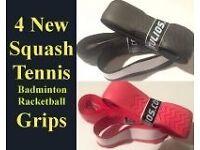 4 Brand new Racket Grips