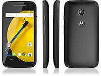MOTO E 2ND GEN SMART PHONE BOXED BRAND NEW UNLOCKED WARRANTY RECEIPT INCLUDED