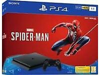 PLAYSTATION 4 SLIM 500GB BRAND NEW AND BOXED * GAME NOT INCLUDED*