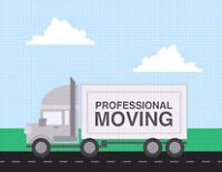 Professional Movers / Free Boxes / $ 75hr