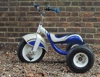 £ 20 Trek Trikestar Tricycle - Retro look - Steel frame - Sturdy