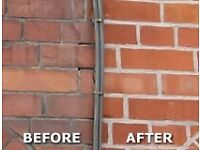 Garden Wall Builds & Brickwork Re-Pointing Services