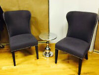 Decorative chairs and table