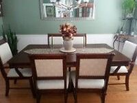 9 PIECE DINING ROOM SET/SUITE - JUST REDUCED!!!!