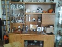 2 pc wall unit (very good condition)