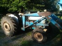 strong tractor well maintained