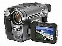 Sony HandyCam Digital 8 DCR-TRV285E