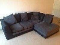 Corner sofa bed with cushions - very good condition // free delivery