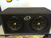 Subwoofer de voiture KICKER