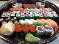 A Shop Assistant/Waiting Staff Required in Sushi Bar and Japanese Food Shop in NW11