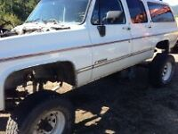 1991 Chevy Suburban for parts