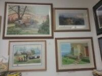 Large collection of artwork  Framed/unframed LIQUIDATING COLLECT