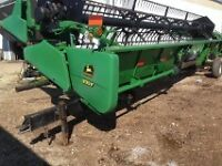 930 flex head with  Crary air reel and transport
