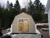 Wired, Insulated Baby Barn