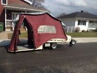 Motorcycle Tent Trailer  Leisure Lite