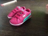 size 1 baby puma shoes located in KELOWNA