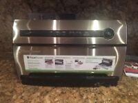 FoodSaver® Countertop V3840 Vacuum Sealing System, Stainless Steel