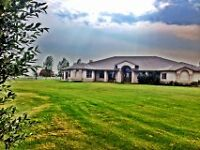 Beautiful Acreage Minutes from Lethbridge-Attention Horse Lovers