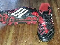 ADIDAS SOCCER CLEATS  --------SIZE 8