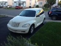 2005 Chrysler PT Cruiser couleur ivoire Berline