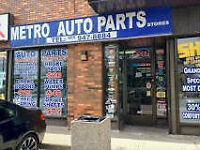 Lucrative Auto Parts Business in Markham for Sale
