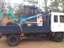 Mini Excavator Combo Hire
