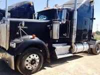 2002 Kenworth W900 with a 60 Series Detroit