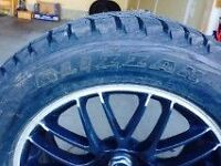 Moving sale! 255/55R18 winter tires