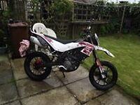 GENERIC TR 125 14 PLATE motorbike - for repairs