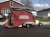 Tent Trailer For Bike Or Small Car
