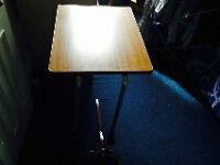 Economy Wheeled Overchair Table