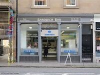 Counter Assistant rapid roll - Edinburgh Part-time